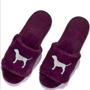 Victoria 's Secret Purple Slipers